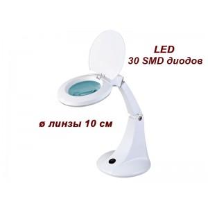 Лампа-лупа настільна мод. 2012В LED, збільшення 3 діоптрії