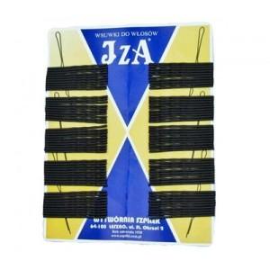 Невидимки IZA чорні 6 см (100 шт. в уп.)