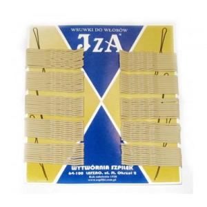 Невидимки IZA білі 6 см (100 шт. в уп.)