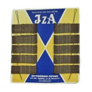 Невидимки IZA коричневі 5 см (100 шт. в уп.)