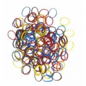 Гумочки для зачісок кольорові