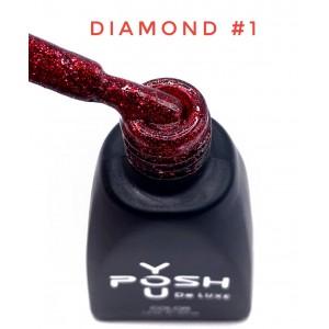 Гель-лак YouPOSH De Luxe Diamond D1, 12 мл