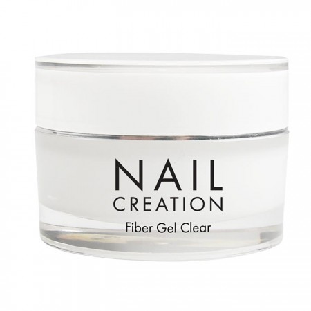 УФ/ЛЕД Однофазний гель прозорий Nail Creation Fiber Clear, 30 мл