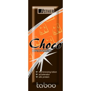 Крем для засмаги в солярії Asther TABOO CHOCO ORANGE 15 мл