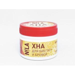 Nila Хна для брів та біотату червона, 50 г