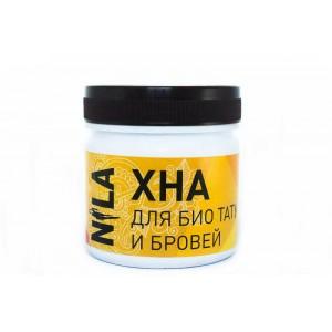 Nila Хна для брів та біотату чорна, 100 г