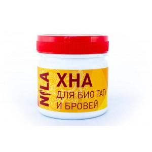 Nila Хна для брів та біотату червона, 100 г