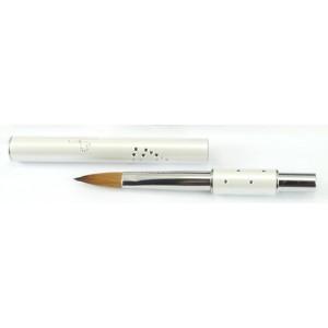 Пензлик для акрилового нарощення Gellex 8 White