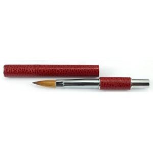 Пензлик для акрилового нарощення Gellex 8 Red