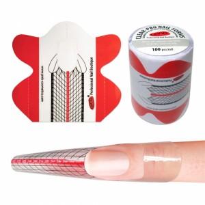 Форми для нігтів прозорі PVC (пластик)/ Clear-Pro Nail Forms PNB