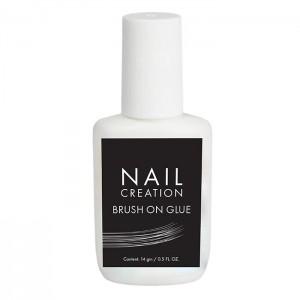 Клей для тіпс Nail Creation Brush on Glue, 14 мл