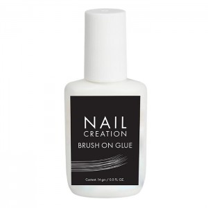 Клей для тіпс Nail Creation Brush on Glue, 14 мл
