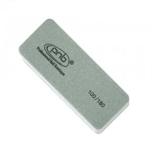 Міні-баф для нігтів PNB 100/180 Grey, прямокутний