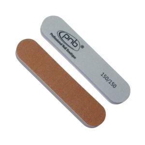 Міні-пилка баф для нігтів PNB 150/150, Golden Brown/Grey