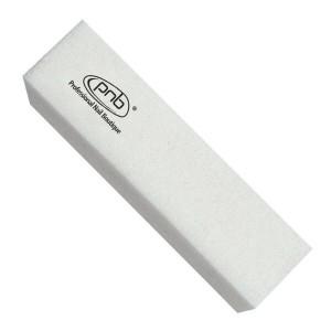 Баф-брусок для нігтів PNB 180/180 White , прямокутний