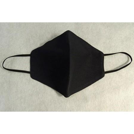 Маска багаторазова чорна